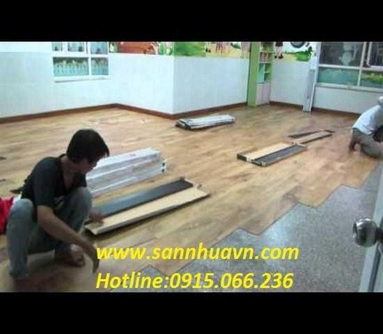 huong-dan-thi-cong-san-nhua, hướng dẫn thi công sàn nhựa vân gỗ,