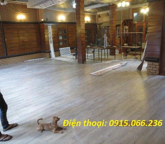 Sàn nhựa giả gỗ Hà Nội