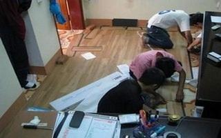 Sàn nhựa giả gỗ, sàn nhựa vân gỗ, san nhua