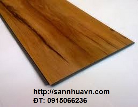 Sàn nhựa vân gỗ, sàn nhựa hèm khóa, sàn nhựa 4ly