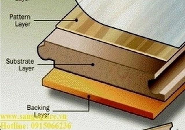 cấu tạo sàn gỗ công nghiệp, sàn gỗ