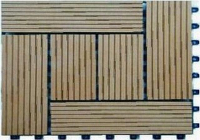 Lát gỗ phòng tắm, ốp tường sàn gỗ dạng vỉ