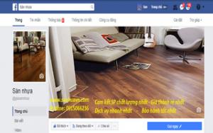 facebook sàn nhựa