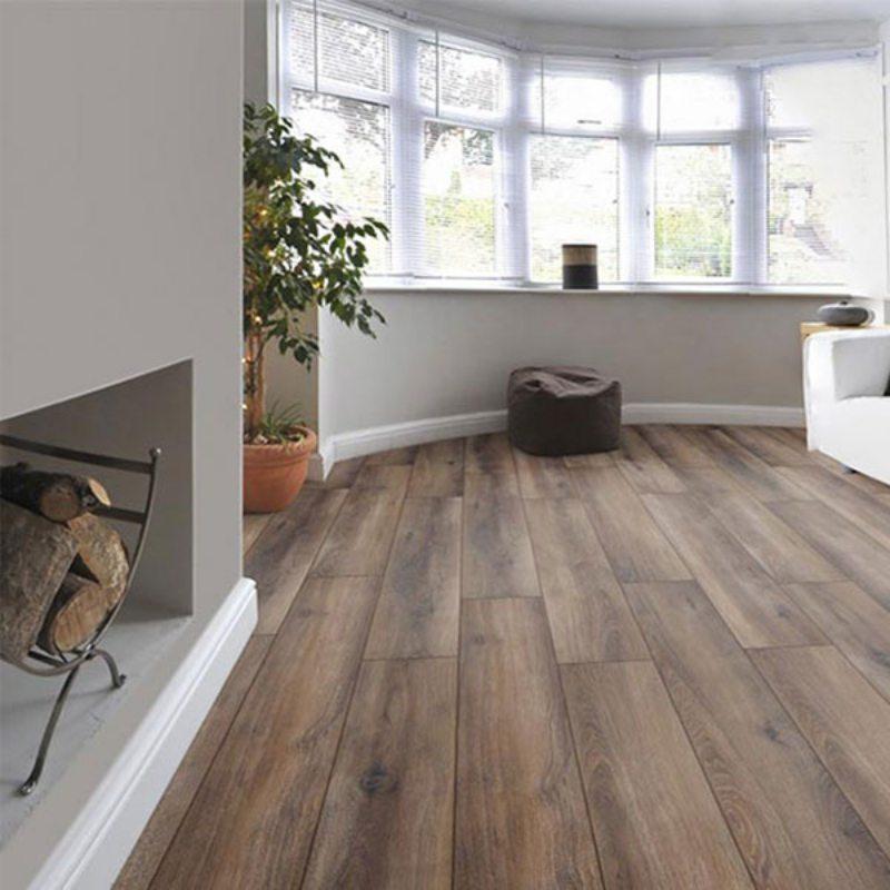 sàn gỗ phòng khách đẹp
