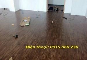 thi công sàn nhựa hai bà trưng, thi cong san nhua