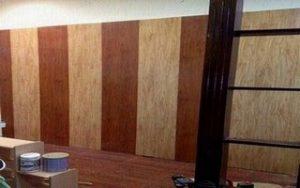 ốp tường gỗ trang trí
