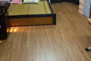 sàn nhựa cho phòng ngủ, sàn nhựa vân gỗ cho phòng ngủ hiện đại,