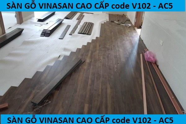sàn gỗ, san go vinasan v102