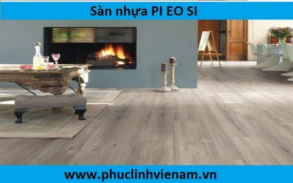 sàn nhựa Hàn quốc PI- EO-SI, báo giá sàn nhựa PI EO SI PLC 522