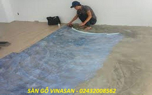 Hướng dẫn thi công sàn nhựa đúng cách, cách thi công sàn nhựa pieosi, báo giá thi công sàn nhựa,