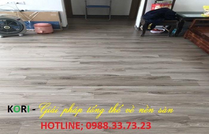 báo giá sàn gỗ công nghiệp bn124, thi công sàn gỗ giá rẻ,