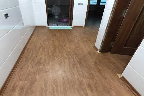 Thi công sàn gỗ BN125 hà nội