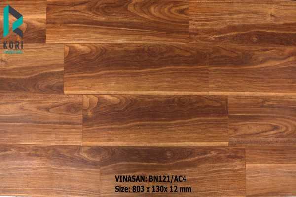 sàn gỗ BN121 nhập khẩu Thái Lan, thông tin sàn gỗ công nghiệp,