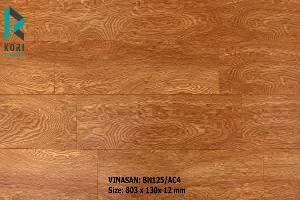 sàn gỗ bn125 cao cấp, đặc tính sàn gỗ vinasan bn125,