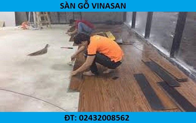 cách thi công sàn nhựa giả gỗ, sàn nhựa giả gỗ cao cấp nhập khẩu hàn quốc
