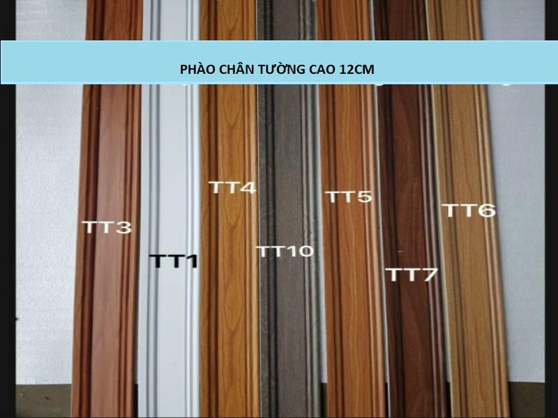 phào chân tường nhựa vân gỗ, phào chân tường ps, mẫu len chân tường nhựa giả gỗ,