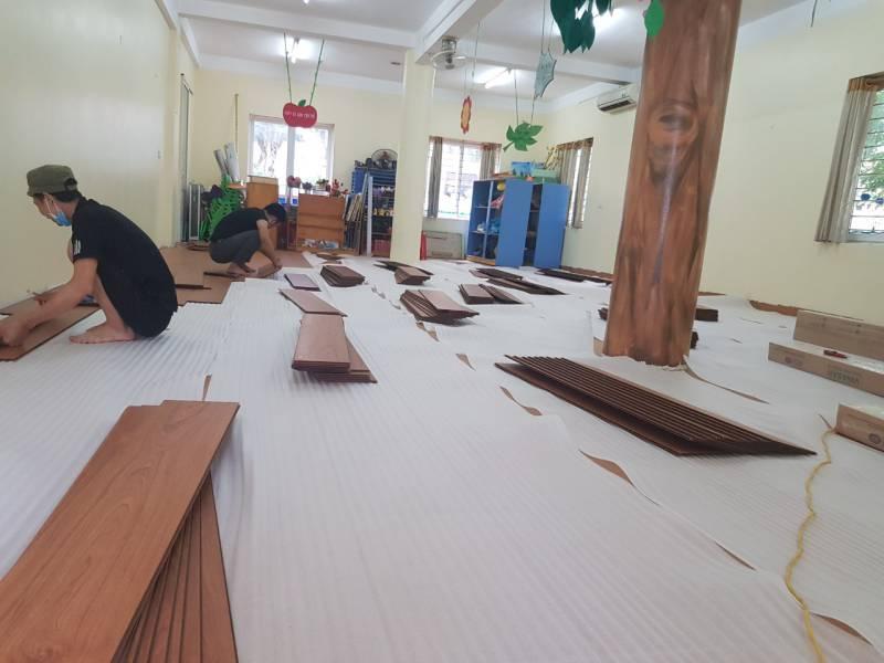 sàn gỗ nhựa tại hà nội, báo giá sàn gỗ nhựa , thi công sàn nhựa giả gỗ,