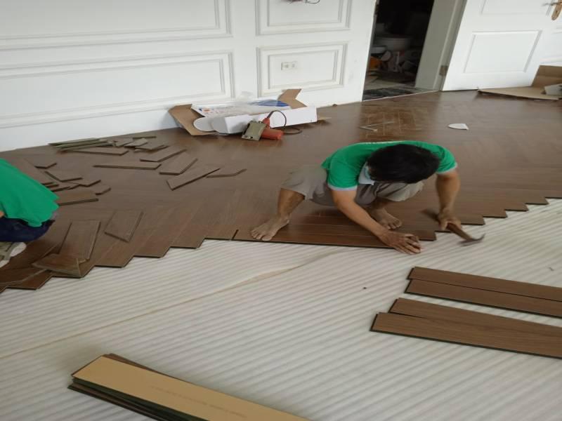 thi công sàn nhựa giả gỗ tại phú yên,