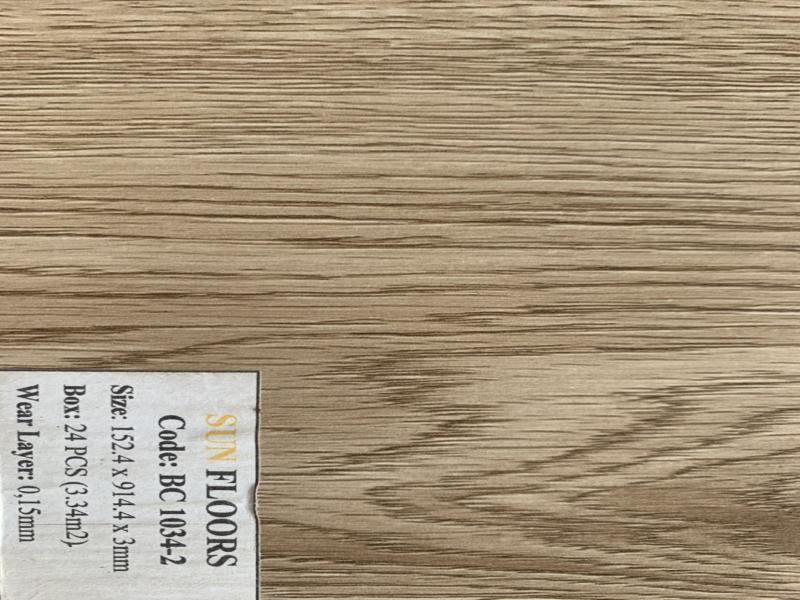 sàn nhựa sun floors 3mm, sàn nhựa giả gỗ giá rẻ sun floors 2mm,